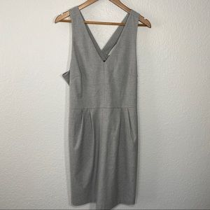 Banana Republic   Gray Dress w/ Bow